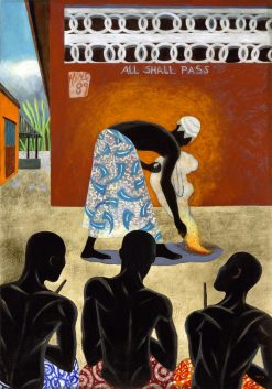 All Shall Pass by Sue Matthews. (Folk Painting of Cuba)