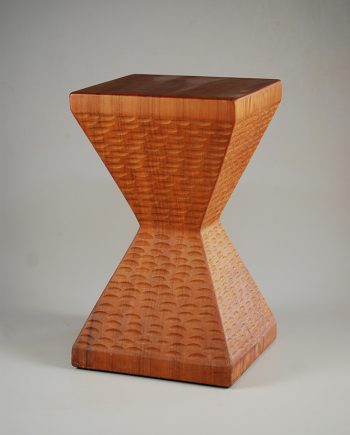 Butterfly Stool by Bruce Mitchell. (Wooden Stool)