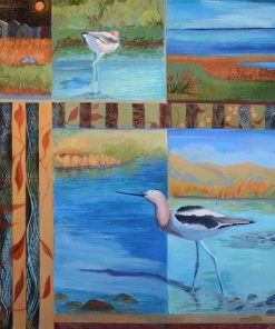 Coming and Going by Sydell Lewis. (Oil Nature Painting)