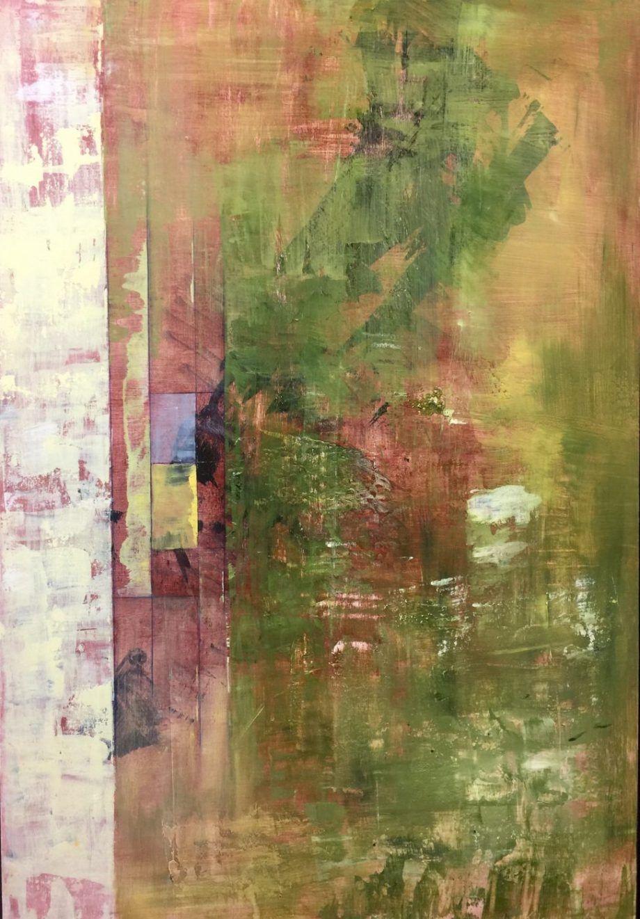 Jack London, No. 5 by Kristen Jensen. (Abstract Acrylic Painting)