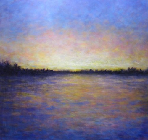Last Light by Victoria Veedell. (Oil Landscape Painting)