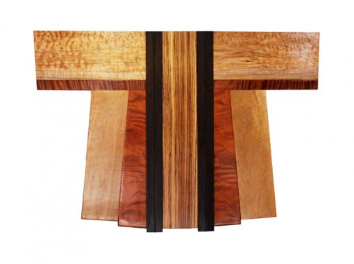 Kimono Cho 1-01 by Bruce Mitchell. (Abstract Wooden Wall Sculpture)
