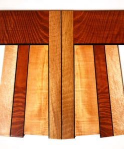 Kimono Cho 1-06 by Bruce Mitchell. (Abstract Wooden Wall Sculpture)