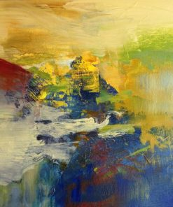 Oh So Primary by Emilia Arana. (Abstract Oil Painting)