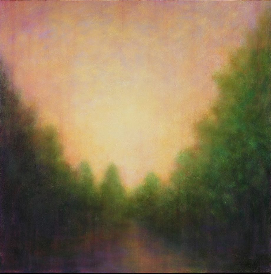 On the Way by Victoria Veedell. (Oil Landscape Painting)