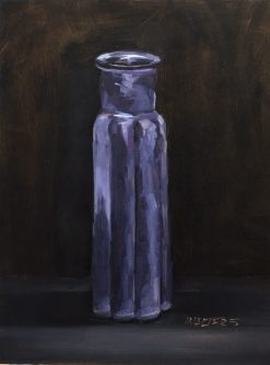 Purple Vase by Marlene Walters. (Oil Still Life Painting)