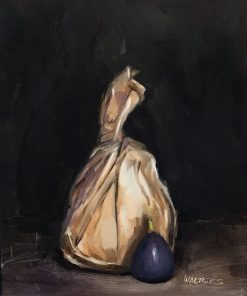 Sack Lunch by Marlene Walters. (Oil Still Life Painting)