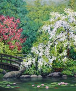 Spring Renewal by Anna Good. (Oil Landscape Painting)
