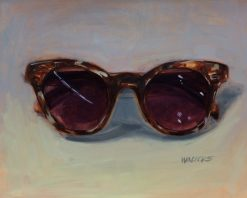 Tortoise Shades by Marlene Walters. (Oil Still Life Painting)