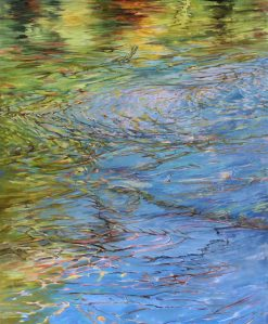 A Silken Sea by c. ellen hart. (Oil Nature Painting)