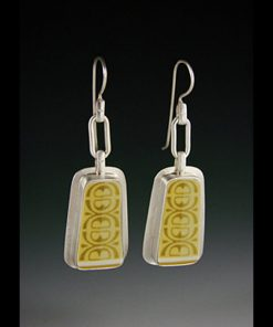 Antigua Earrings by Amy Faust. (Hand-made Silver Earrings)