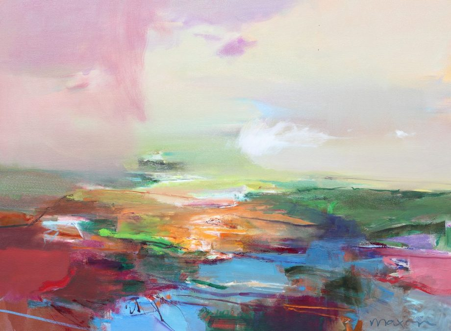Be Cause by John Maxon. (Oil Landscape Painting)