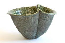 Conquistador by Emil Yanos. (Stoneware Ceramic Vessel)
