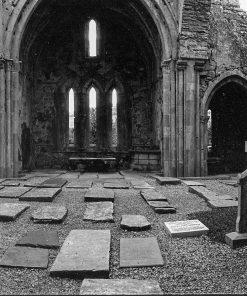 Corcomroe Abbey, Ballyvaughan, Co. Clare by Doug Plummer. (Ireland Countryside Photograph)