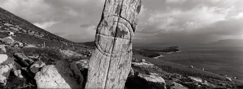 Cross Slab, Co. Kerry by Doug Plummer. (Ireland Countryside Photograph)
