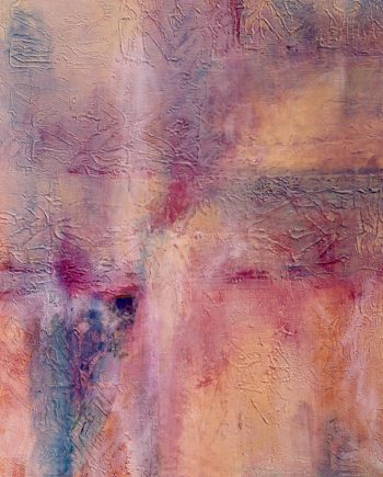 Erasing Memory by Stella St.Pierre White. (Abstract Mixed Media Painting)