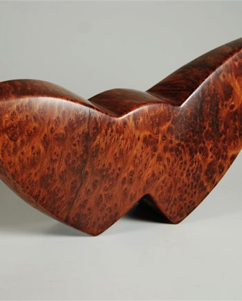 Fossil Form by Bruce Mitchell. (Abstract Wood Sculpture)