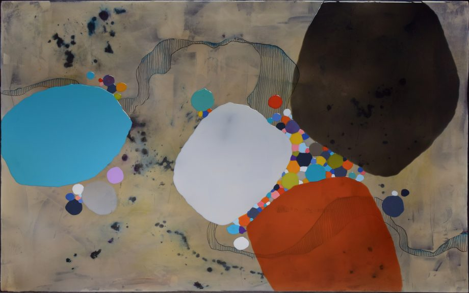 Gravity 24 by Ken Sloan. (Abstract Epoxy Resin Painting)