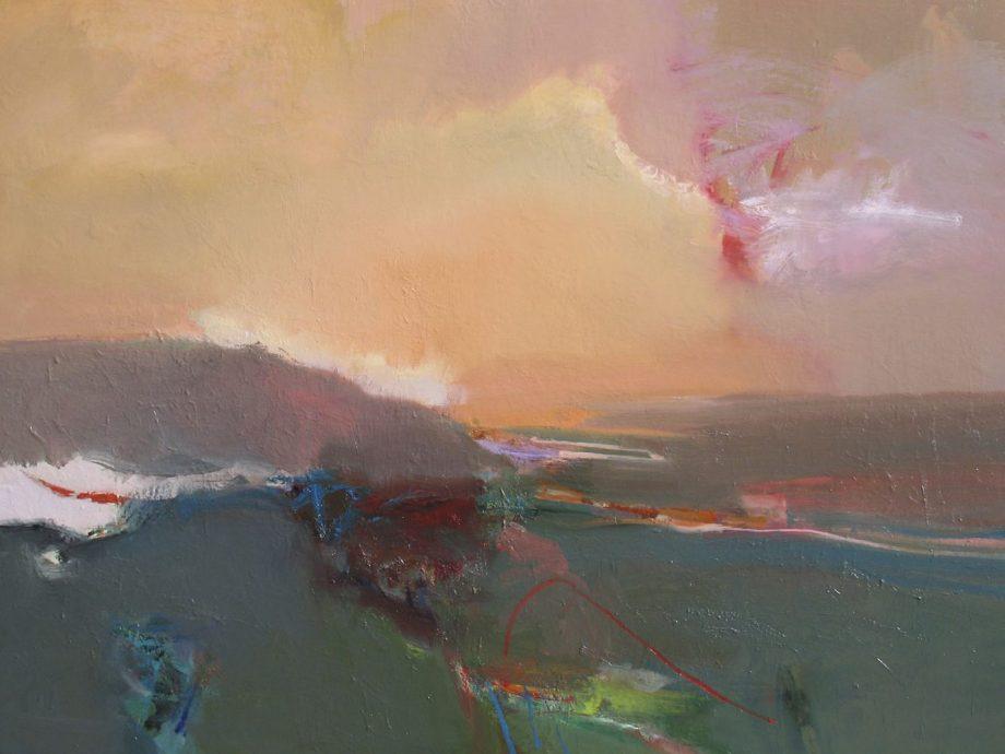 Later Light by John Maxon. (Oil Landscape Painting)