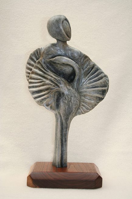 Lunch With Rodin: Matisse by Tomi LaPierre. (Bronze Figurative Sculpture)