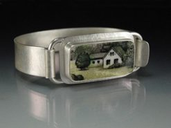 Meadow Cuff Bracelet by Amy Faust. (Hand-made Silver Bracelet)