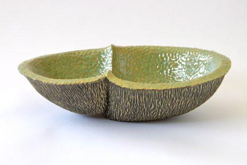 Meiosis by Emil Yanos. (Stoneware Ceramic Vessel)