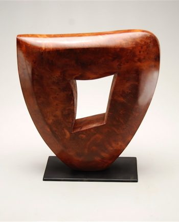 Muse by Bruce Mitchell. (Abstract Wood Sculpture)