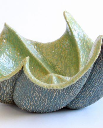 Octopus VI by Emil Yanos. (Stoneware Ceramic Vessel)