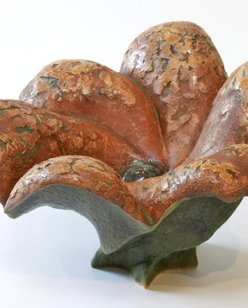 Pangea Cycle by Emil Yanos. (Abstract Ceramic Sculpture)