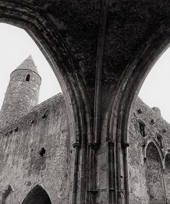 Rock of Cashel, Co. Tipperary by Doug Plummer. (Ireland Countryside Photograph)