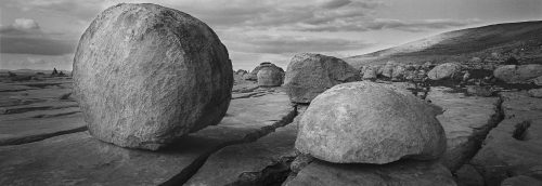 Rocks on the Burren, Co. Clare by Doug Plummer. (Ireland Countryside Photograph)