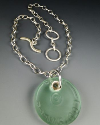 Santa Monica Necklace by Amy Faust. (Hand-made Silver Necklace)