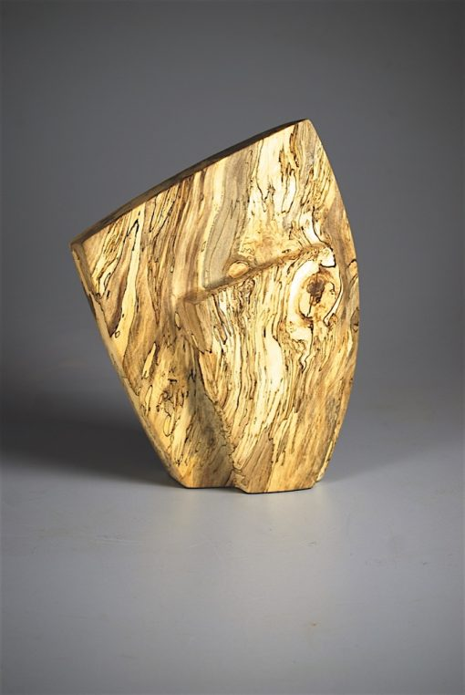 Standing Figure by Bruce Mitchell. (Abstract Wood Sculpture)