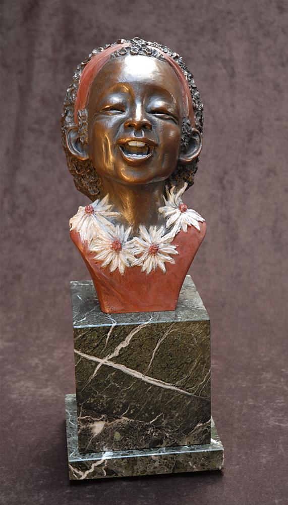 Summer by Tomi LaPierre. (Bronze Figurative Sculpture)