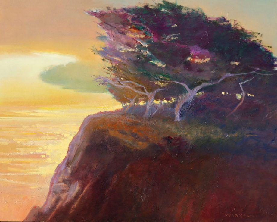 Sweet Time by John Maxon. (Oil Landscape Painting)