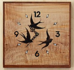 Swift Clock by Matthew Werner. (Hand-made music stand)