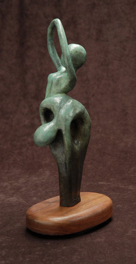 The Garden #1 by Tomi LaPierre. (Bronze Figurative Sculpture)