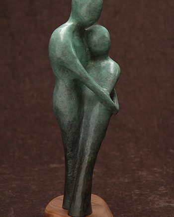 The Garden #3 by Tomi LaPierre. (Bronze Figurative Sculpture)