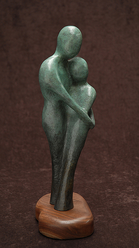 The Garden #3 by Tomi LaPierre. (Bronze Figurative Sculpture)