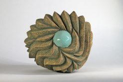 Tide Pool III by Emil Yanos. (Abstract Ceramic Sculpture)
