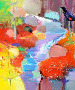 Twist by John Maxon. (Oil Nature Painting)
