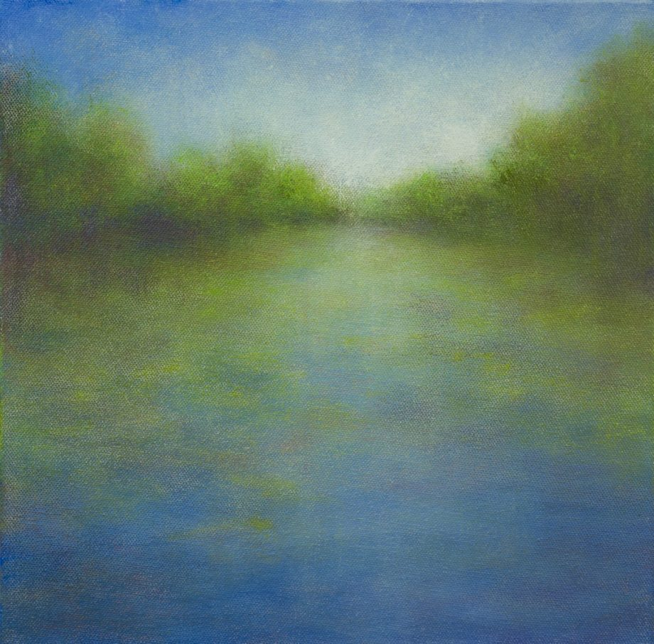 Summer Reflection by Victoria Veedell. (Oil Landscape Painting)