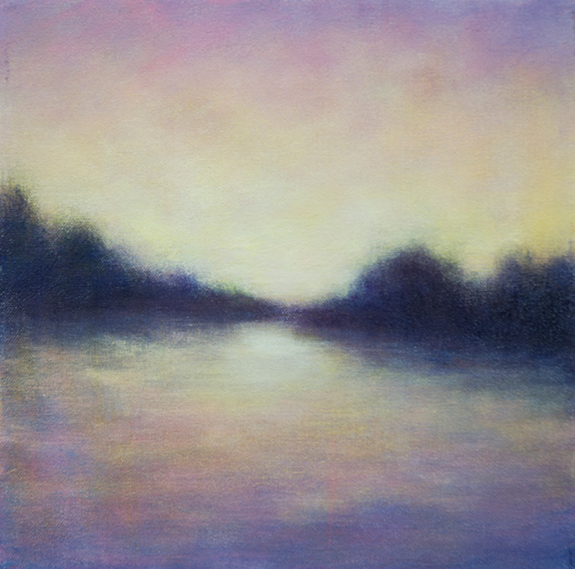 Evening Memory 2 by Victoria Veedell. (Oil Landscape Painting)