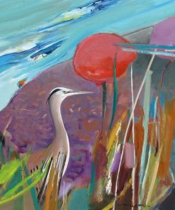 Water's Wisdom by John Maxon. (Oil Nature Painting)