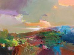 X press by John Maxon. (Oil Landscape Painting)