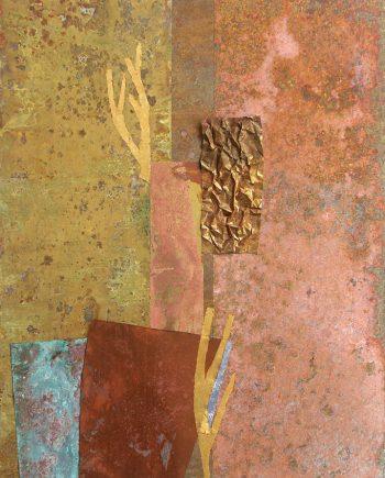 Empty & Be Filled by Flora Davis. (Metal Wall Sculpture)