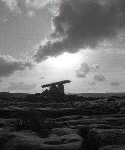 Poulnadrome Dolman, Co. Clare by Doug Plummer. (Ireland Countryside Photograph)