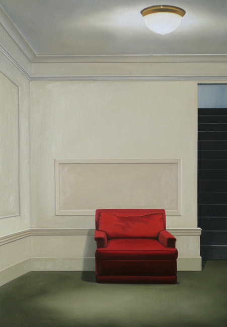 After Hours Foyer by Matt Condron. ( Oil Painting)