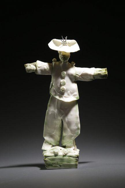 Cocky by Inge Robert. (European Ceramic Sculpture)