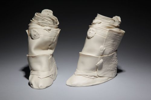 Constrained by Inge Robert. (European Ceramic Sculpture)